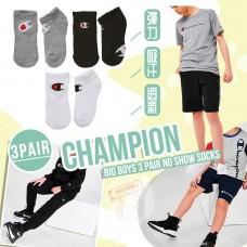 12月初: Champion 中童運動短襪 (3對裝-混色)