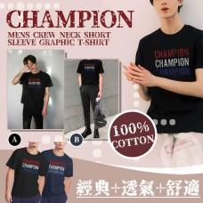 12月初: Champion Graphic 男裝短袖上衣 (黑色)