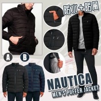 12月初: Nautica Puffer 男裝夾棉外套 (藍色)