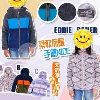12月初: Eddie Bauer 童裝珊瑚絨外套 (藍色)