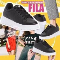 12月初: FILA Athletic 皮款休閒鞋 (黑色)