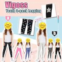 12月初: Vigoss Legging 3條裝女童貼身褲 (B款)