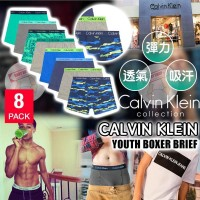 12月初: Calvin Klein Boxer 男童平腳內褲 (4條裝-混色)