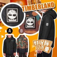 12月初: Timberland 中童夾棉外套 (迷彩)
