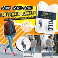 12月初: Ralph Lauren Polo 6對裝男裝長白襪