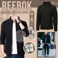 12月初: Reebok Fleece 男裝運動外套 (黑色)