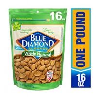現貨: Blue Diamond 天然無添加杏仁 (原味)